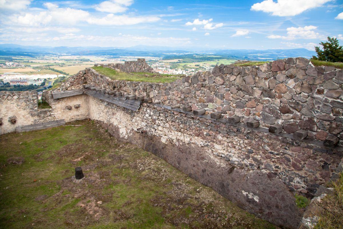 Výhľady z Pustého hradu