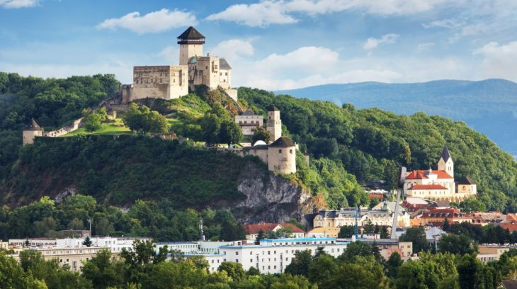 Trenčiansky hrad – dominanta Považia