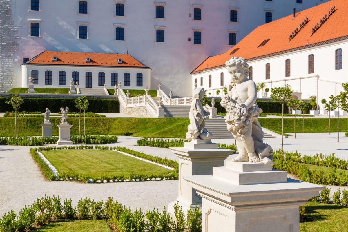 Záhrada Bratislavského hradu