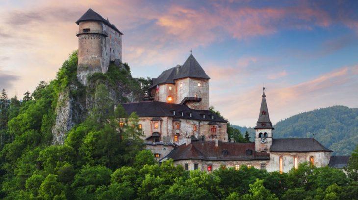 Filmový hrdina Oravský hrad