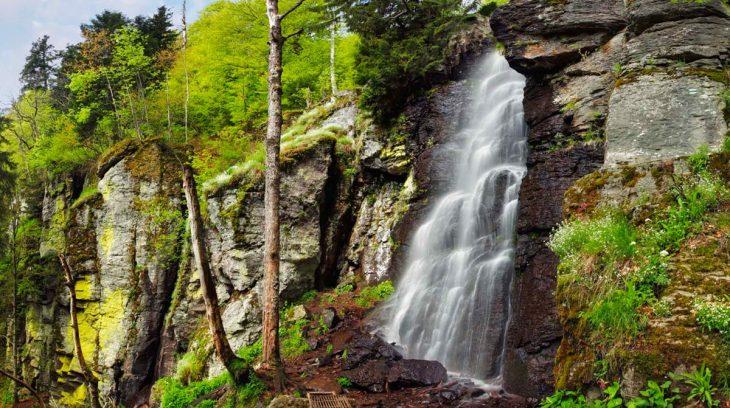 5 najkrajších slovenských vodopádov