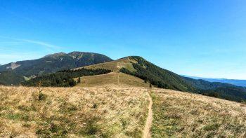 Kozí chrbát – najvyšší vrch Starohorských vrchov